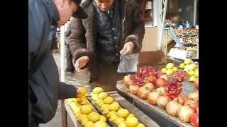 Кишинев  центральный рынок 2012