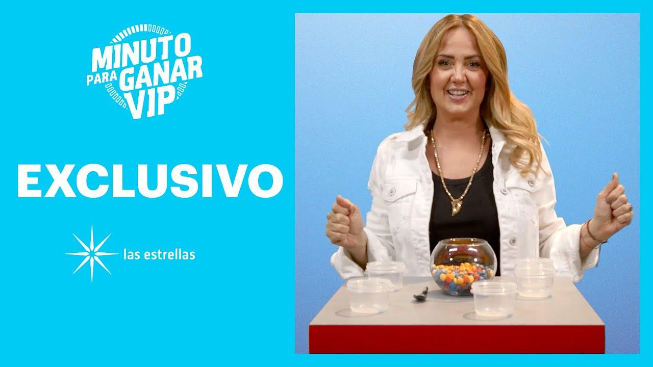 Minuto para ganar VIP: Andrea Legarreta lista para el Torneo VIP | Las Estrellas