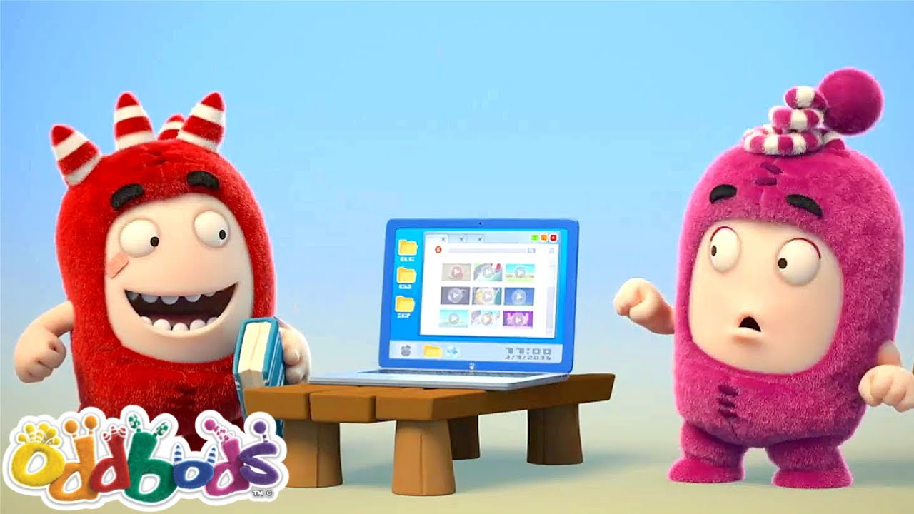 Oddbods 😎 Fuse Fumbles To Be A Tech Genius🗯️🎈バブルガム ⭐ 子ども向けアニメ集 | Super Toons TV アニメ