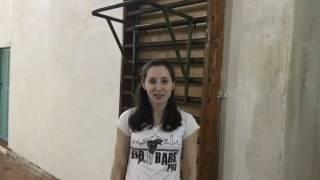Видео-урок по подтягиваниям на турнике. ЗИНОВЬЕВА КСЕНИЯ