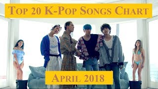 Top 20 K-Pop Songs Chart - April 2018 | CheeYoung95