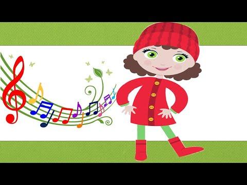Весёлая песенка  Красные сапожки. Караоке для детей с мамой.Поём и танцуем. Трали - Вали.
