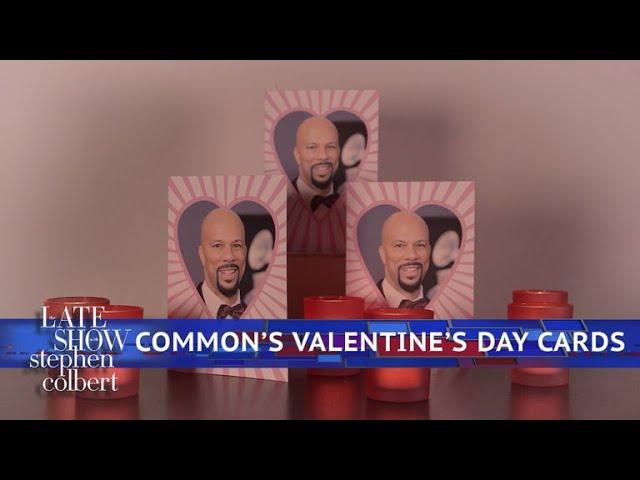 Common's Valentine's Day Cards #1