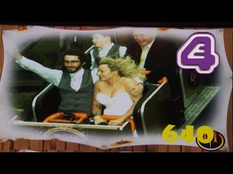 Couple SERIOUSLY Get Married on ROLLER COASTER | Don't Tell the Bride