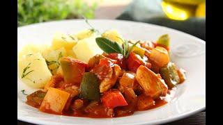 Przepis -  Szybki gulasz z papryką (przepisy kulinarne przepisy.pl)