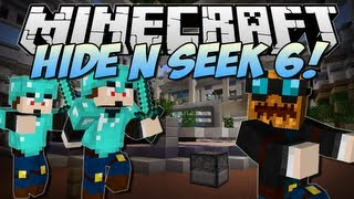 Minecraft | HIDE N SEEK 6! (The PUMPKIN Challenge!) | Minigame