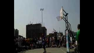 Hadzbe & Daniel  Slam Dunk Contest Streetball with Marcin Gortat 2012