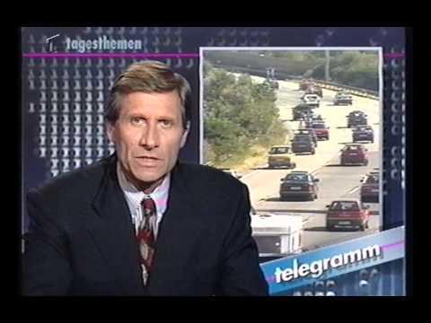 Tagesthemen Telegramm und Programmvorschau aus den 90ern