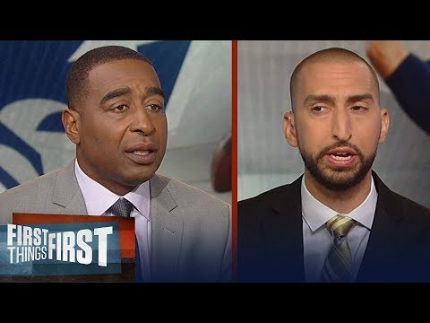 Cris and Nick on Tom Brady maintaining greatness at his age | NFL | FIRST THINGS FIRST