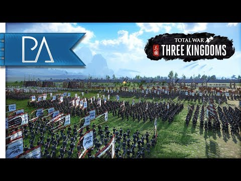 MASSIVE MULTIPLAYER SIEGE BATTLE - 4v4 - Total War: Three Kingdoms