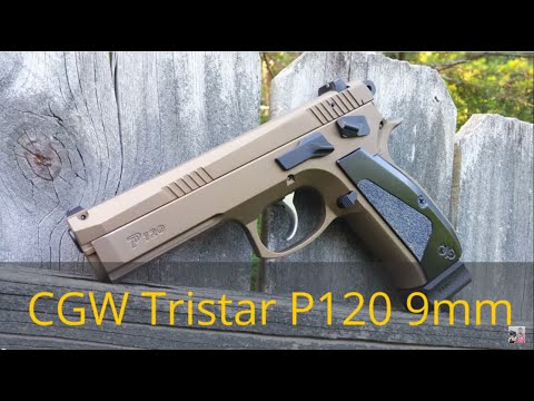Tristar P120 (CZ SP-01 clone) tuned by Cajun Gun Works