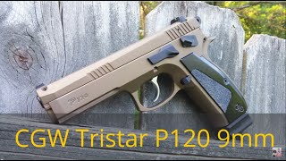 tristar p120 cz sp 01 clone tuned by cajun gun works