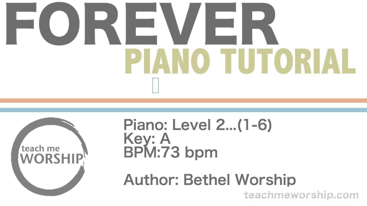 Forever piano tutorial bethel kari jobe youtube forever piano tutorial bethel kari jobe hexwebz Choice Image