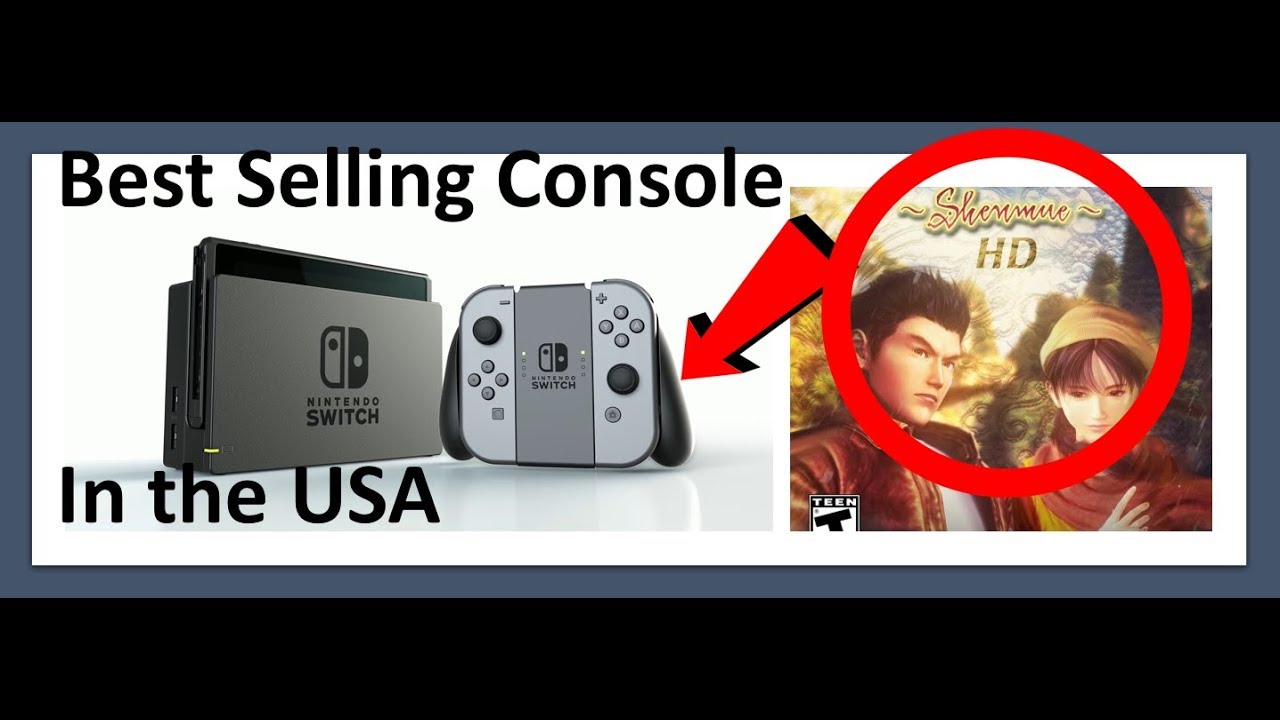 Videogame News #3 Nintendo Switch Fastest Selling Console in US History and PS4 getting Shemnu 3
