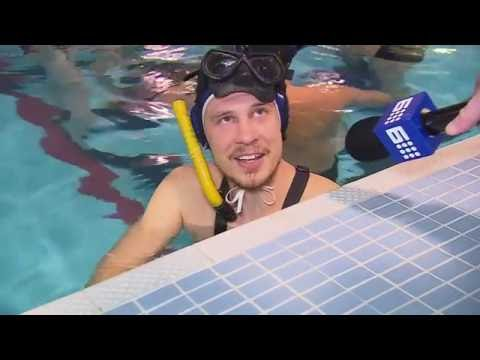 UNDERWATER RUGBY | 9 News Adelaide