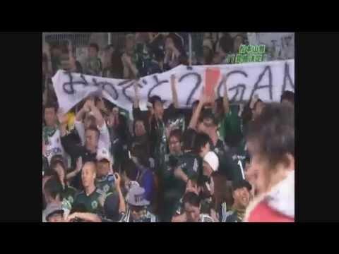 2014 Jリーグ 松本山雅FC J1昇格のシーン