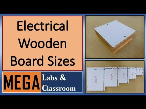 Electrical Wooden Board Sizes Wooden Electric Box Sizes Sunmica Top Wooden Board Sizes Youtube