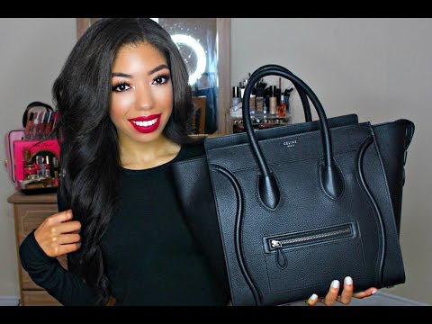 What's In My Bag | Celine Mini Luggage + Review