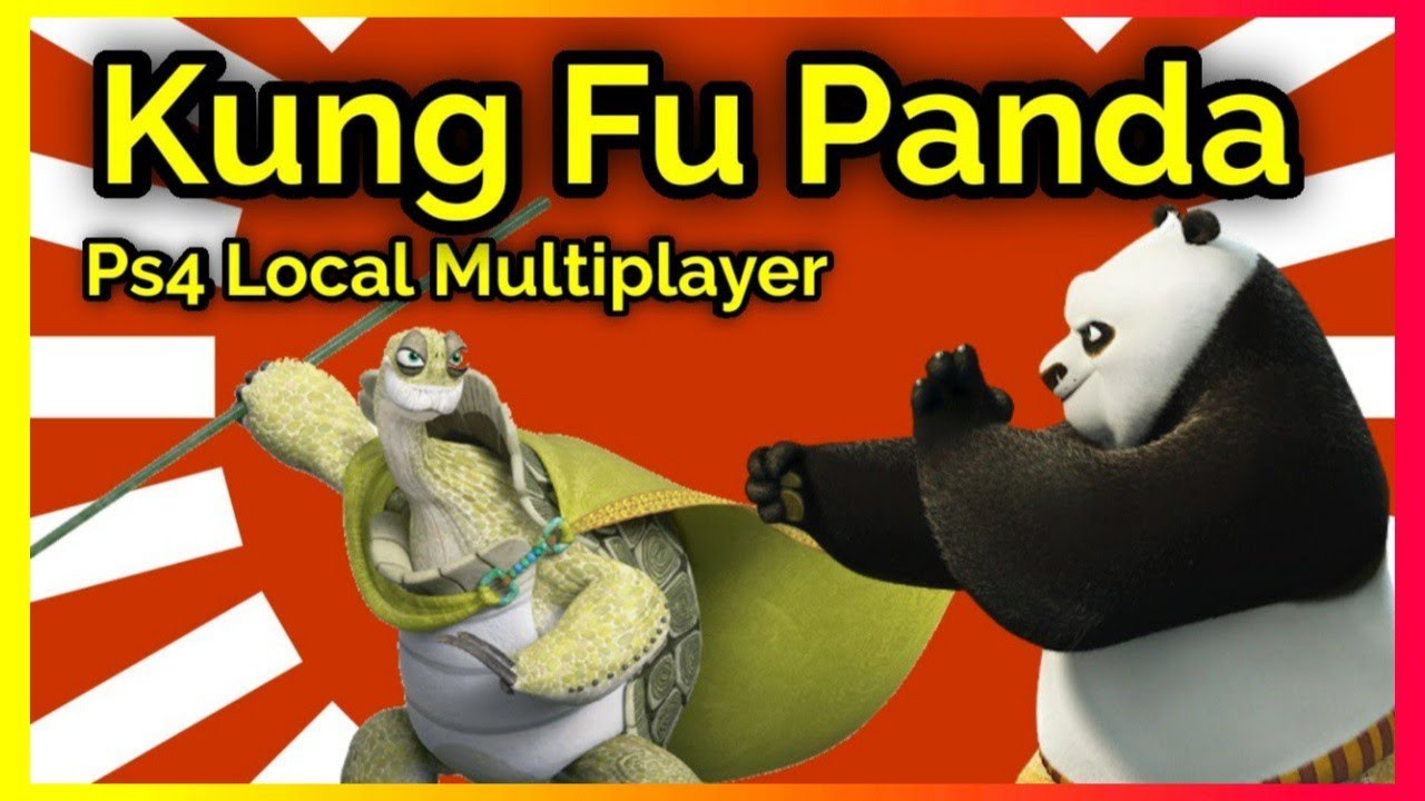 Kung Fu Panda - Local Multiplayer Fights - Ps4 Gameplay