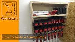 Ein Regal für Korpuszwingen - How to build a clamp rack (with english subtitles)
