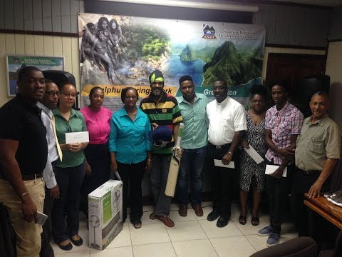 Soufriere Foundation - Community Donation Ceremony (Full Length)