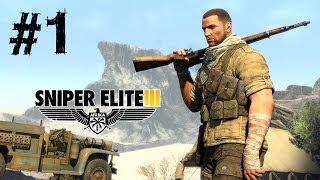 Sniper Elite 3 Gameplay Walkthrough Part 1 PC Ultra Max Settings [ULTRA HD] 4K