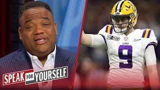 Joe Burrow should think twice about accepting fate in Cincy — Whitlock | CFB | SPEAK FOR YOURSELF