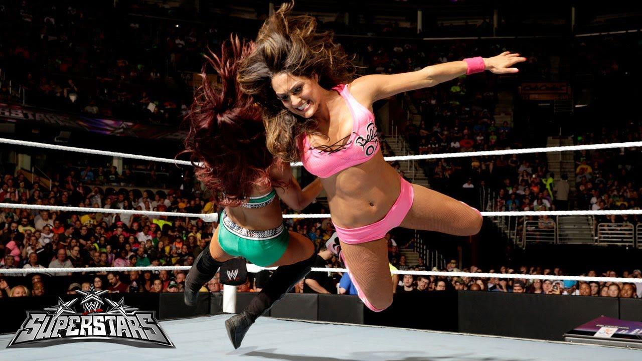 Nikki Bella Vs Alicia Fox Wwe Superstars June 19 2014