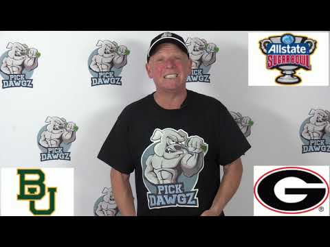 Georgia vs Baylor 1/1/20 Free College Football Pick and Prediction: Sugar Bowl