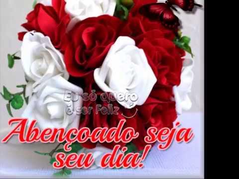 para grande amor com flores - abençpado seja seu dia