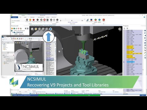 Recovering a Legacy Project in NCSIMUL