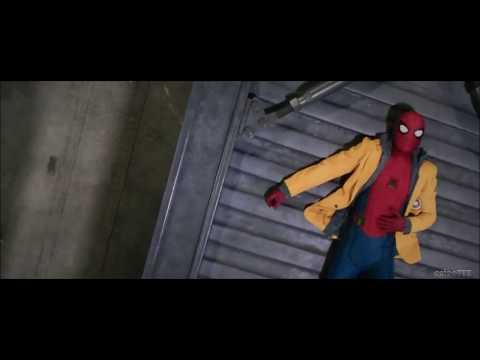Spider-Man: Homecoming (Scene) - Web Course In Damage Control Storage