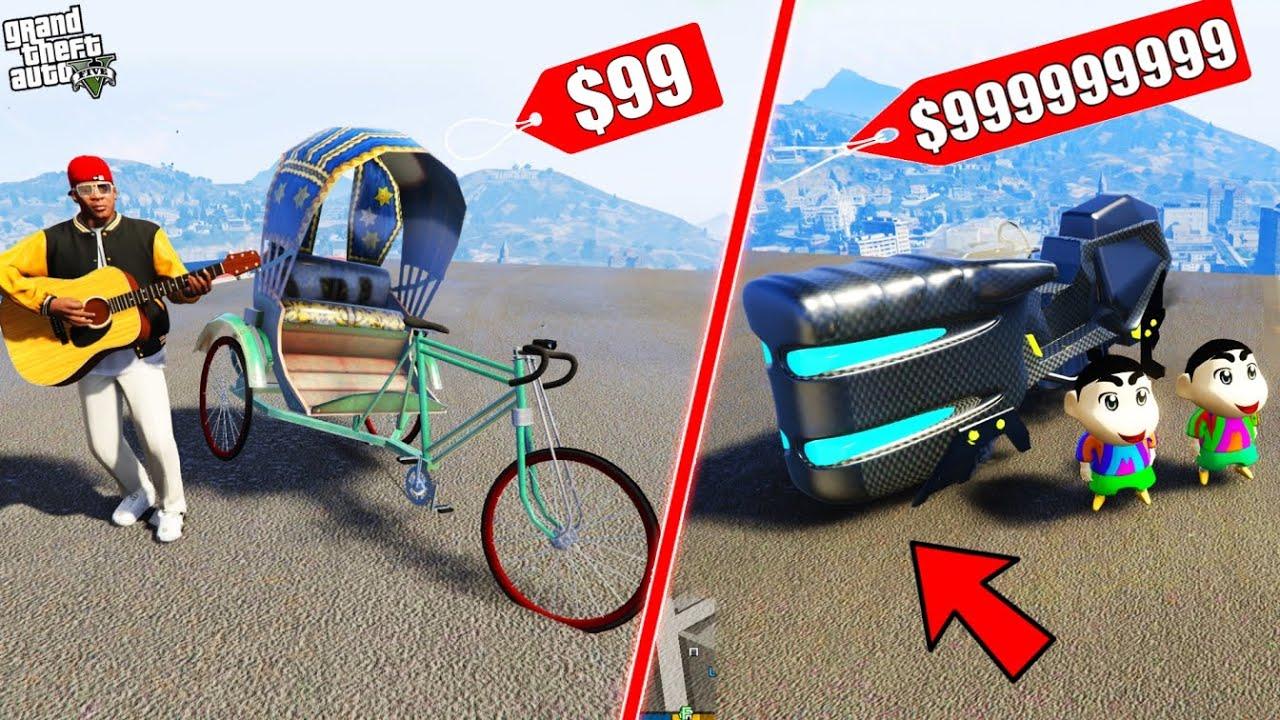 GTA 5 : Shinchan & Pinchan Fight With Franklin For Most Expensive Bike in GTA 5 ! (GTA 5 mods)