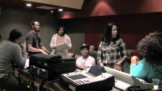 "In The Studio with Kirk Franklin - ""I Smile"""