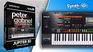 Peter Gabriel Sound Pack for Roland JP80-HD Jupiter ( Synthonia - Programmer )