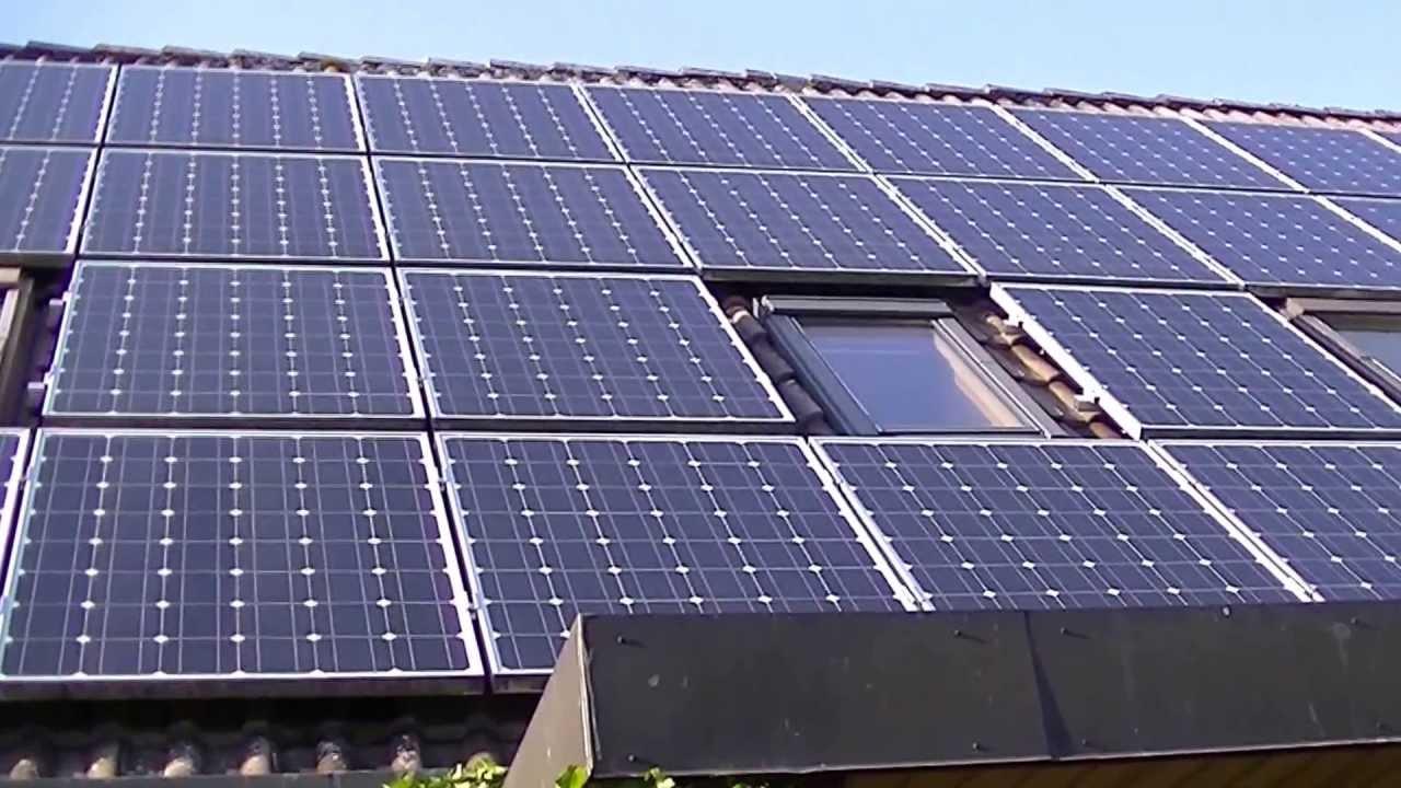 Жизнь в Германии. ЖКХ Солнечные батареи.
