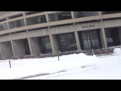 Boston Blizzard 2013 - Christian Science Center