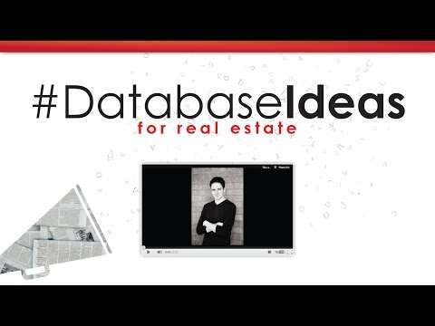Database ideas for real estate agents - full webinar