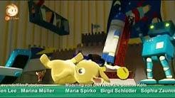 JoNaLu! Roboter spinnt