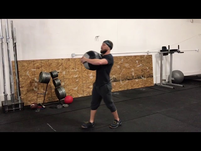 Medball Front Hold Carry