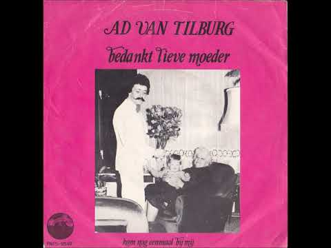 Ad van Tilburg - Bedankt lieve moeder - 1980.