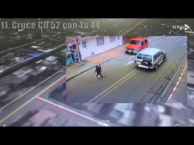 Atentado en Bogotá: así fue como llegó el carro a la Escuela de Cadetes