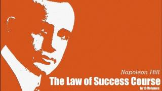 Napoleon Hill, The Law of Success Course in 16 Lessons: Lesson 11