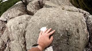 Rocking Cat Rocks, Appalachian Trail, NY 8/18/2018
