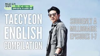 Taecyeon Speaking English Compilation | SAM US TRIP