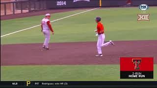 Oklahoma vs Texas Tech Baseball Highlights - Apr. 21