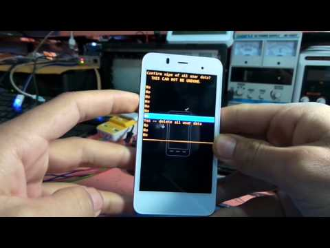 ALCATEL 6010X One Touch Star How to Hard Reset