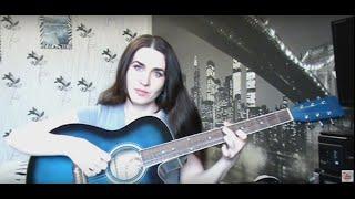 Простая красивая мелодия на гитаре Урок