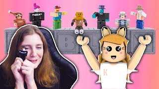 OPENING ROBLOX TOYS // Roblox Mystery Figures Series 2 Toy Opening // Roblox Toy Codes