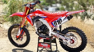 Custom built Honda CRF150F by BBR Motorsports - Motocross Action Magazine